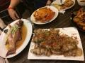 Fisch, Krabbe und Lobster