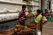 Durian Verkäufer