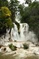 Der Kuang-Si-Wasserfall