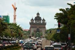 """Der """"Triumphbogen"""" von Vientiane"""