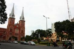 Die Notre Dame Kathedrale von Saigon