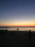 Der Strand von Nha Trang bei Sonnenaufgang