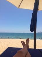 Der Strand von Nha Trang