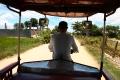 Unser Tuk-Tuk-Fahrer zu den Schreckensplätzen von Phnom Penh
