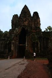 Ein Tor nach Angkor Thom
