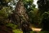Ein weiteres Tor nach Angkor Thom