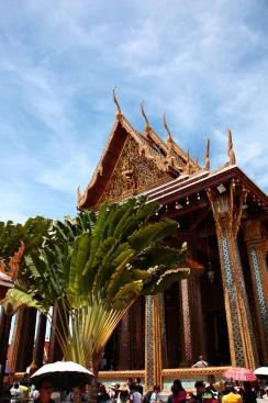 Das Gelände des Königspalastes in Bangkok