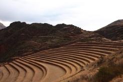 Die Inka-Ruine von Pisac
