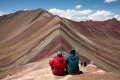 Der Rainbow Mountain
