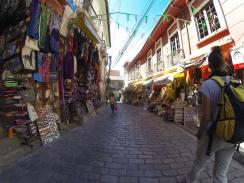 In den Straßen von La Paz