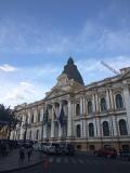 Der Regierungssitz am Plaza de Murillo