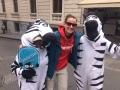 Zebras sorgen für rücksichtsvollen Verkehr und gute Laune