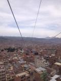 La Paz aus dem Teleferico