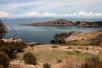 Die Isla del Sol im Titicacasee