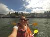 """Besichtigung der """"palafitos"""" mit dem Kayak"""