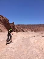 Mit dem Fahrrad durch die Atacama-Wüste