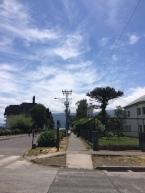 Die kleine Stadt Pucón am Vulkan Villarrica