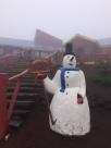 Am Vulkan Osorno ohne Blickkontakt, dafür mit Schnee und Nebel