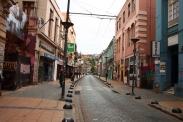 In den Straßen von Valparaíso