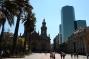 Der Hauptplatz in Santiago de Chile