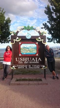 Willkommen in Ushuaia - das Ende der Welt!
