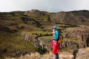 """Tag 1: Wanderung zum """"Cerro Torre""""."""