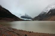 """Verhangener Tag 1: Wanderung zum """"Cerro Torre"""" inklusive Gletscher."""