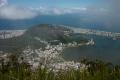 """Blick vom Berg mit der berühmten """"Christo"""" Statue"""
