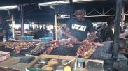 Essen auf dem Markt von Katutura