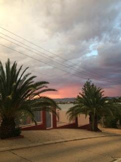 Sonnenuntergang in Windhoek