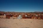 Unterkünfte der Arbeiter im Weingebiet Namibias