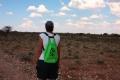 Wandern in den Ausläufern der Kalahari-Wüste